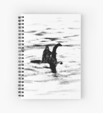 Bigfoot and the Loch Ness Monster team-up confirmed? Spiral Notebook
