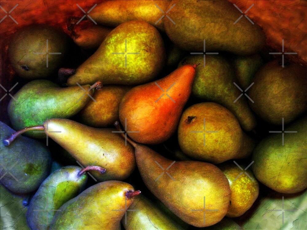 Still Life with Pears by FrankieCat