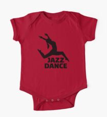Jazz dance One Piece - Short Sleeve
