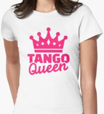 Tango queen Womens Fitted T-Shirt