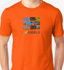 Commodore Amiga - Games Unisex T-Shirt