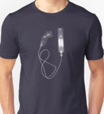 Nintendo Wii Controllers - X-Ray Unisex T-Shirt