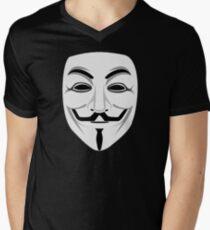 Guy Fawkes Men's V-Neck T-Shirt