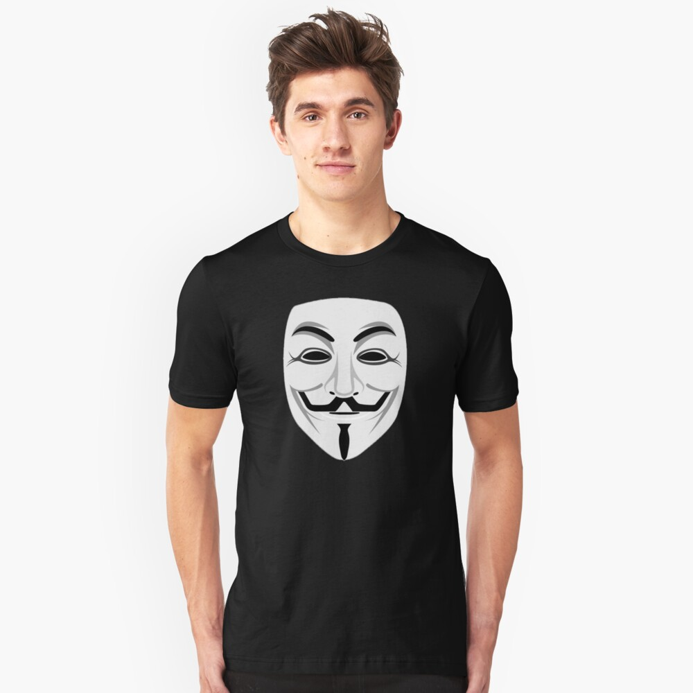 Guy Fawkes Unisex T-Shirt Front