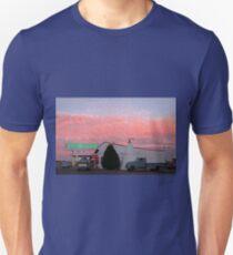 Nostalgic Motel Under Arizona Sunset Unisex T-Shirt
