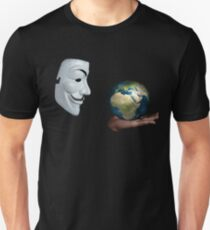 Anonymous - Keeper of the World T-Shirt