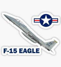 F-15C Eagle 94th Fighter Squadron USAF Sticker