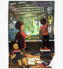 The Education of Black Self-Love  Poster