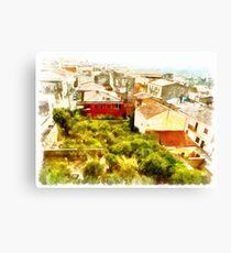 Arzachena: landscape Canvas Print
