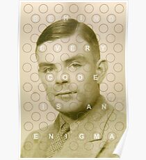 Every code is an enigma Poster
