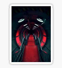 Retro Futurism Atomium Sticker