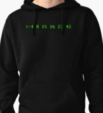 Hurley's Numbers - DOS Font Pullover Hoodie