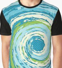 Hurricane Blue Graphic T-Shirt
