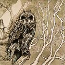 Owl - Guardian of the Night by Forestheart