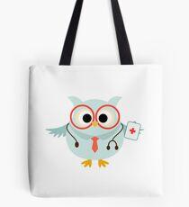 Medical Profession Owl Doctor Tote Bag
