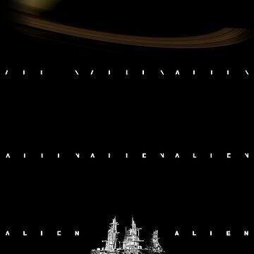Alien Logo Progression by nickhamilton