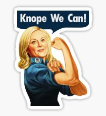 Parks & Recreation // Knope We Can!  Sticker