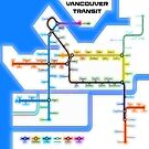 Vancouver Transit Network by mrthink