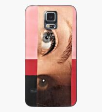 Black and Red Case/Skin for Samsung Galaxy