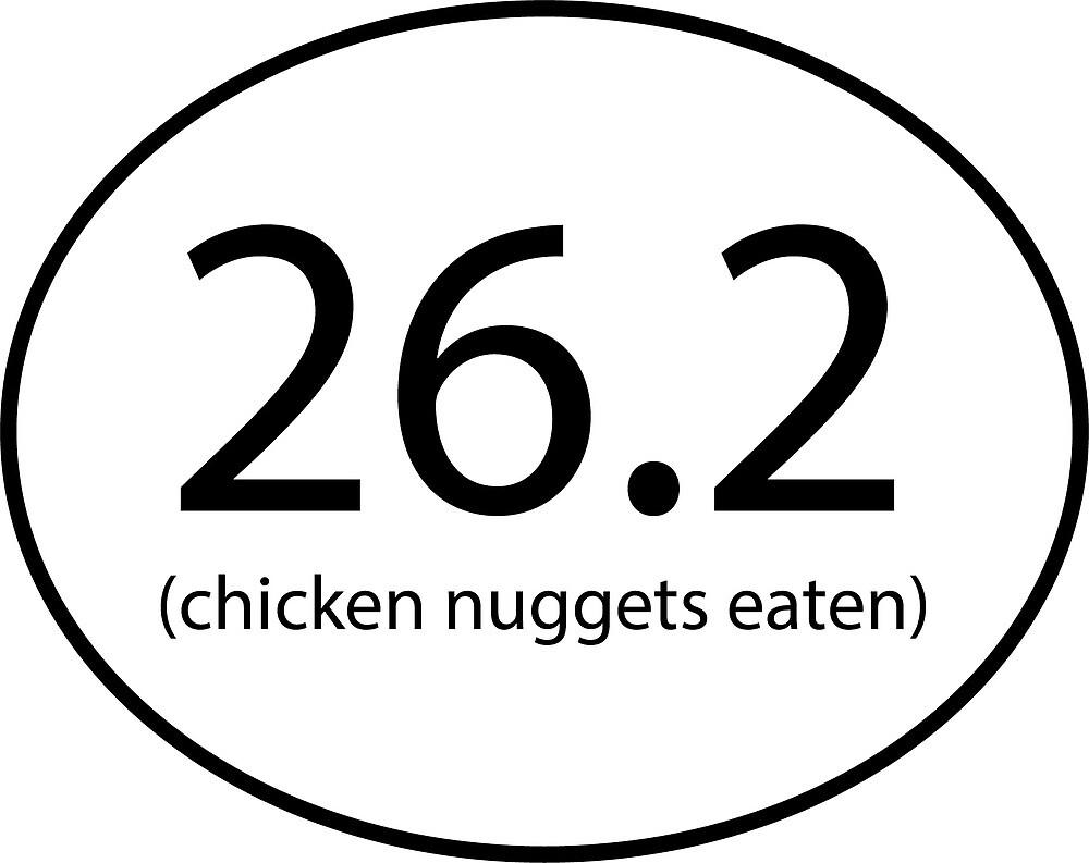 26.2 Chicken Nuggets Eaten by EmilyLynnRose