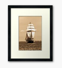 Sailing Baltic Sea Framed Print