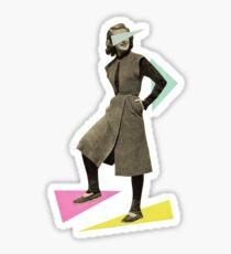 Shapely Figure Sticker