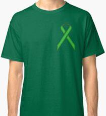 Green Standard Ribbon Classic T-Shirt