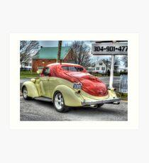 1937 Studebaker Dictator Coupe Art Print