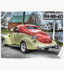 1937 Studebaker Diktator Coupe Poster