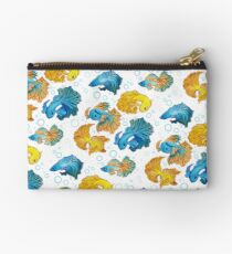 Beta Fish Zipper Pouch