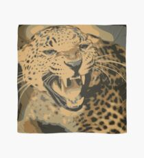 Wild leopard in 7 colors Scarf