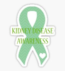 Kidney Disease - Chevron Sticker