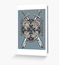 Hero's Coat of Arms Greeting Card