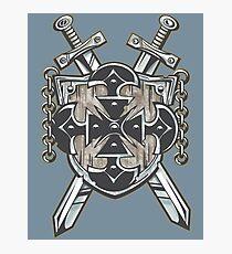 Hero's Coat of Arms Photographic Print