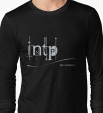 INTP - The Myers-Briggs Architect Long Sleeve T-Shirt