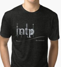 INTP - The Myers-Briggs Architect Tri-blend T-Shirt