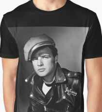 Marlon Brando the Wild One 1953 Graphic T-Shirt
