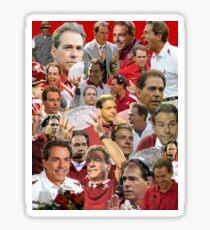 Pegatina Nick Saban Collage