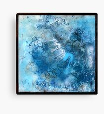 Satellite Blues 02 Canvas Print