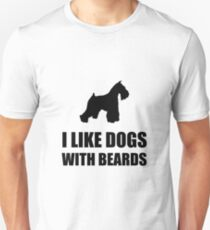 Dog Beard Schnauzer Unisex T-Shirt