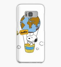Snoopy Samsung Galaxy Case/Skin