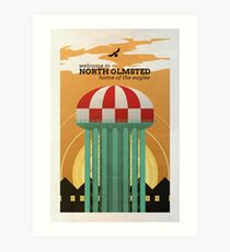 North Olmsted Art Print