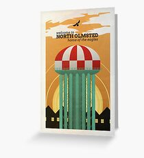 North Olmsted Greeting Card