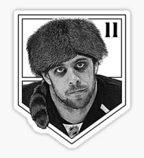 Coonskin Anze Kopitar Tee - LA Kings (two-color design) Sticker