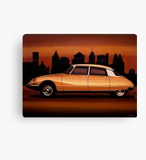 Citroen DS Painting Canvas Print