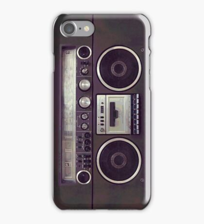 80s Boombox iPhone Case - All Models