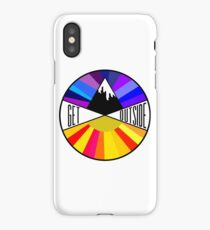 Get Outside | Mountain & Sun iPhone Case/Skin