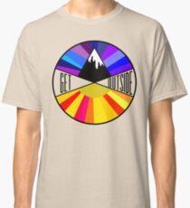 Get Outside | Mountain & Sun Classic T-Shirt