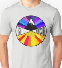 Get Outside | Mountain & Sun T-Shirt