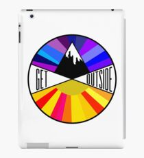 Get Outside | Mountain & Sun iPad Case/Skin